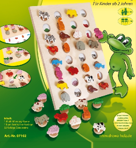 Drewa Multi Memory Game